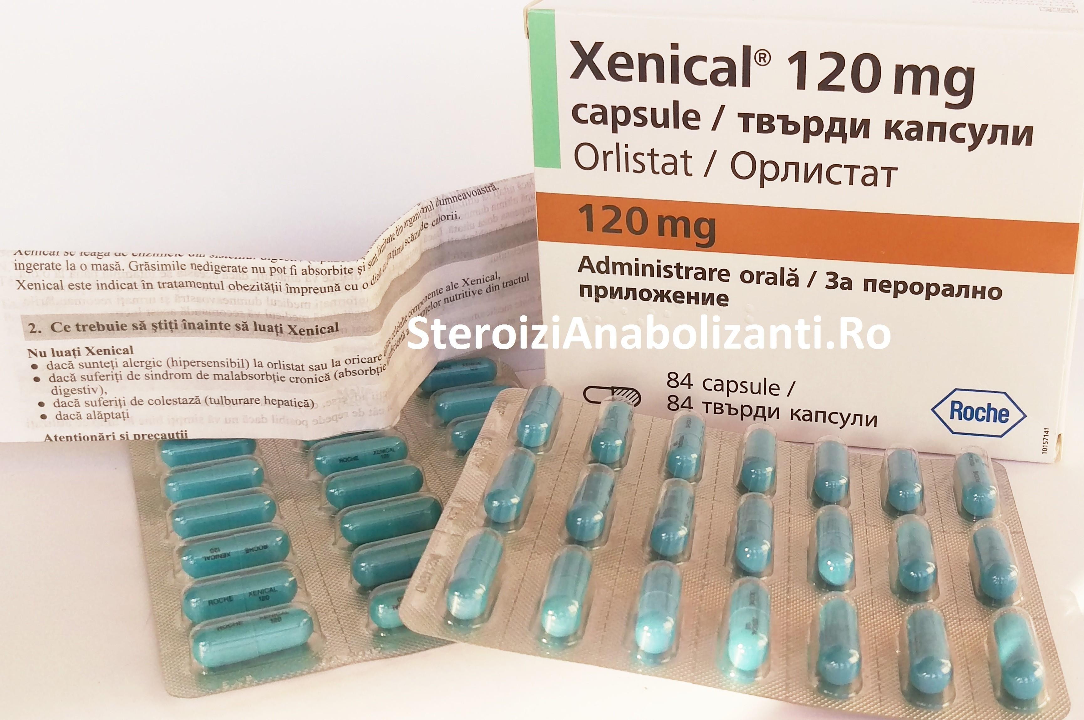 Etichetă: pastile pentru slabit Informatii prospect Xenical mg, capsule